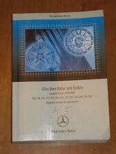 Tabellenbuch Mercedes 2006/2007 Räder-164-169-171-203-209-211-219-221-245-251-46