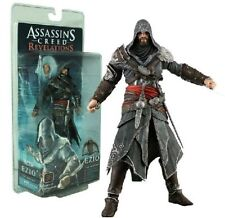 ASSASSIN'S CREED REVELATIONS EZIO AUDITORE MENTOR ACTION FIGURES STATUE TOY