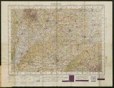 War Office Sheet 8 MIDLANDS. Cotswolds Chilterns. ORDNANCE SURVEY 1948 map