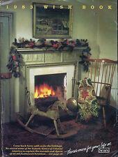 1983 SEARS WISHBOOK of VALUES for 1983 Christmas Season Catalog