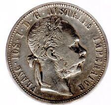 """1 Florin Österreich-Ungarn (Habsburg) """"Franz-Josef I."""" 1878 A (Wien) in ss./ss.+"""