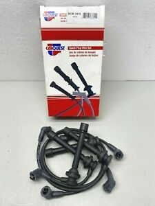 4658 Carquest Spark Plug Wire Set fits 1993-97 Nissan Altima 2.4L