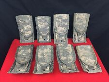 Lot of 8 - US Military Army ACU Molle II M16 / M4 Double Mag Ammo Pouches EUC
