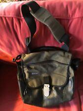 OverLand Equipment Canvas Leather Satchel Document Messenger Bag