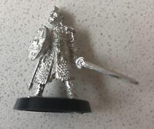 King Theoden Of Rohan on foot Sword & Shield OOP RARE metal Games Workshop LOTR