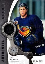 2005-06 Sp Game Used #137 Jim Slater