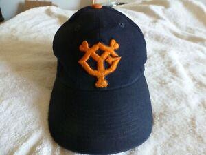 DESCENT PRO MADE Japan TOKYO YOMIURI GIANTS Baseball Cap Hat Blk/ORANGE 57cm