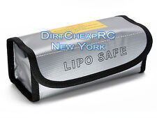 185x75x60mm Square LiPo Safe Battery Charging Box Bag Sack Pouch, Fire Resistant