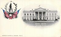 White House Washington Souvenir Co. Private Mailing Card No. 3 Unused Postcard