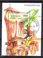 Fleurs - Laos (140) bloc oblitéré
