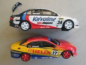 Scalextric slot car x2 1/32 Ford Falcon Shell 17 Johnson Holden Tander Valvoline