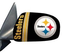 Pittsburgh Steelers Auto Mirror Cover In Small or Large (Set of 2)