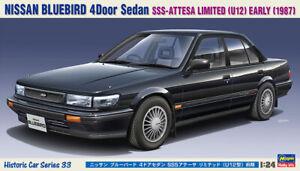 Hasegawa 1/24 Nissan Bluebird 4 Door Sedan SSS Model Kit