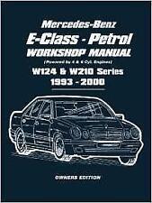 MERCEDES E-CLASS W124 200 220 280 300 E200 E220 E280 E300 Owners Manual Handbook