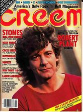 Creem Music Magazine October 1982 X Queen Roxy Music Motorhead King Crimson
