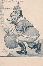 TRANSVAAL Guerre RUSSO JAPONAISE caricature satirique  ORENS CORÉE OURS RUSSE