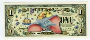 DISNEY DOLLARS, 2005A, UNCIRCULATED, THE 17TH YEAR, DUMBO, NO BC