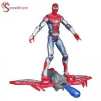 "MARVEL SPIDER-MAN MISSILE ATTACK BLASTING GLIDER 3.75""ACTION FIGURE"