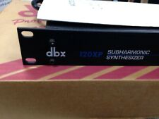 NEW OLD STOCK USA MADE DBX 120XP SUBHARMONIC SYNTHESIZER  $239.00 NOW!