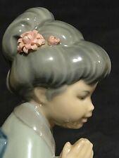 Vintage Lladro Daisa Spain Japanese Sayonara Figurine 1978 Retired. Excellent!
