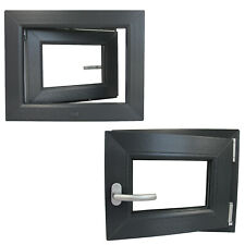 Kunststofffenster Anthrazit Innen Außen Kellerfenster Dreh Kipp 2 3 fach RAL7016