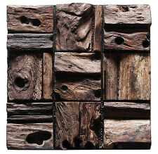 Salvaged Wood Planks Interior Wall Tile Decoration Panel Reclaimed Barn Wood