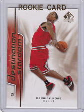 DERRICK ROSE Upper Deck SP AUTHENTIC ROOKIE CARD 2008 Chicago Bulls INSERT RC