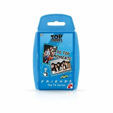 Friends Top TRUMPS 30 Moments TV Show Series Card Game Collectors