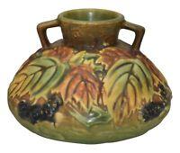 Roseville Pottery Blackberry Vase 568-4