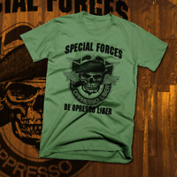 Army Special Forces Ranger T-Shirt Airborne Paratrooper Combat Veteran Military