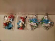 2016 Burger King Smurfs Toy Lot Of 4