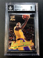KOBE BRYANT 1996 FLEER ULTRA #G52 GOLD MEDALLION ROOKIE RC BGS 9.5 9 9 9 SUBS