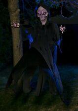 Ghostly 12' Hanging Skeleton Grim Reaper Prop Yard Decoration (Used)