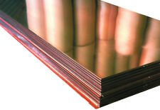 "Copper Sheet .0216"" Thick - 16oz - 24 Ga - 36""x120"" - FREE 48 STATE SHIPPING"