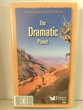 OUR DRAMATIC PLANET~ READER'S DIGEST~ SCENIC WALKS AROUND THE WORLD ~ RARE VIDEO