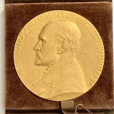 Medaille En Bronze Credit Lyonnais(N2487)