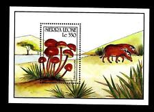 "SIERRA LEONE - BF - 1990 - Funghi (""Psilocybe coprophila"")"