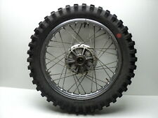 Yamaha RT360 RT 360 #4239 Chrome Rear Wheel & Tire