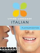 Platinum: Living Language Italian by Living Language Staff (2011, Mixed...