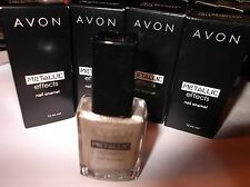 NAIL POLISH AVON METALLIC EFFECTS FOILED CHROME