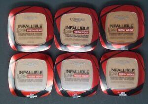 Loreal Infallible 24Hr Fresh Wear Foundation In A Powder Matte Waterproof PICK 1