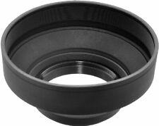 62mm Soft Rubber Lens Hood for DSLR Cameras & Camcorders