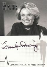 Six Million Dollar Man Jennifer Darling as Peggy Callahan A11 Auto Card