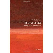 Bestsellers: A Very Short Introduction (Very Short Intr - Paperback NEW Sutherla