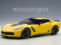 AUTOart 71260 2016 CHEVROLET CORVETTE C7 Z06 C7R EDITION 1/18 RACING YELLOW