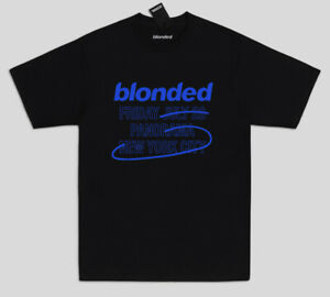 Blonded Tour T shirt Frank Ocean NY supreme quality Blond Merch Golf Wang BLK
