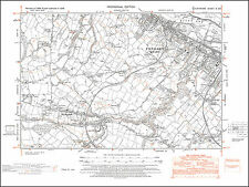 Connah's Quay, Northophall, old map Flintshire 1948: 10SW repro Wales