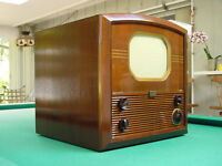 """Vintage 1940's RCA 721TS 10"""" Channel 1 Table Top TV, #4"""