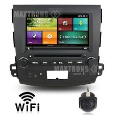 Car DVD GPS Navigation Autoradio headunit For Mitsubishi Outlander Free Camera