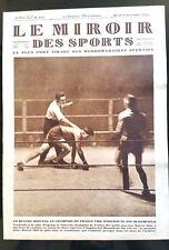 Miroir des Sports 6/11/1928; Thil-Bloomfield/ Traversée Atlantique en dirigeable
